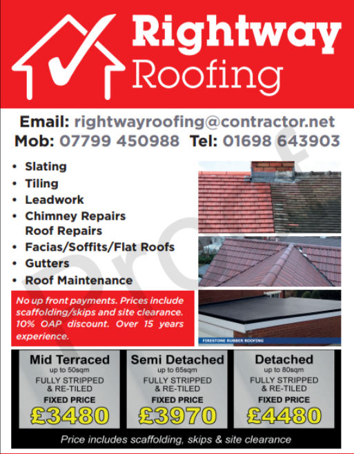 Rightway Roofing   Roofing   Wishaw, North Lanarkshire   Yelp