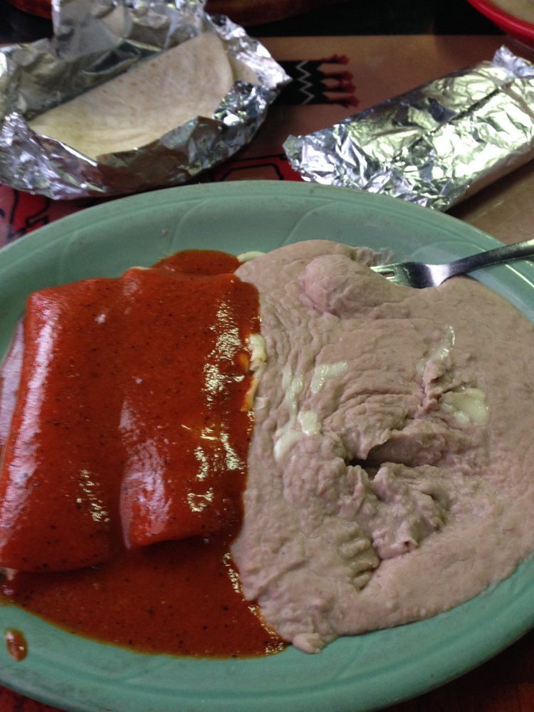 Food from El Jarrito Mexican Grill