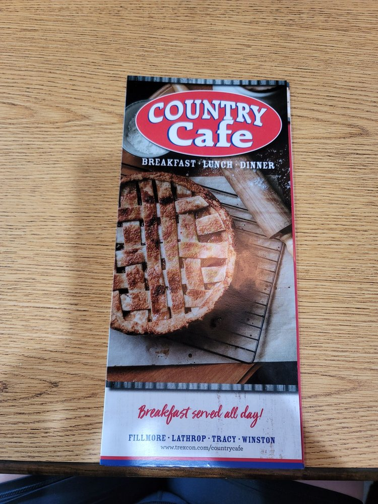 Country Cafe: 101 Tracy Dr, Tracy, MO