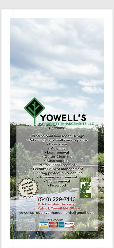 Yowell's Tree Experts and Property Enhancements: Madison, VA