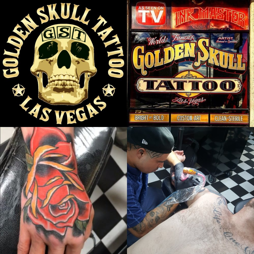 997b312a6 Photos for Golden Skull Tattoo - Yelp