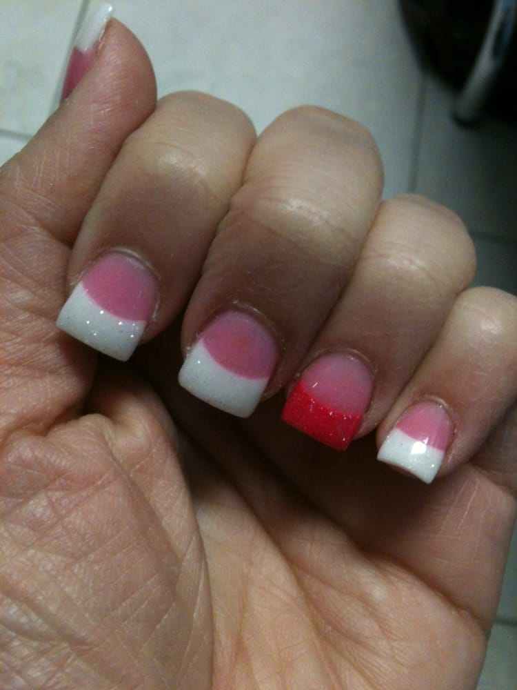 Spanish manicure... Oh yeah!!!!! LAN is the best!!! :) - Yelp