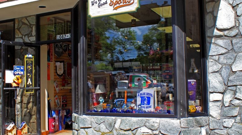 We're Good Sports: 1087-3 Main St, Blowing Rock, NC
