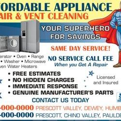 Affordable Appliance Repair - Appliances & Repair - 1330