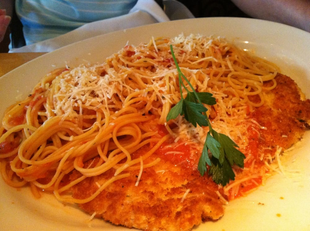 Crusted chicken Romano - FAVORITE! - Yelp