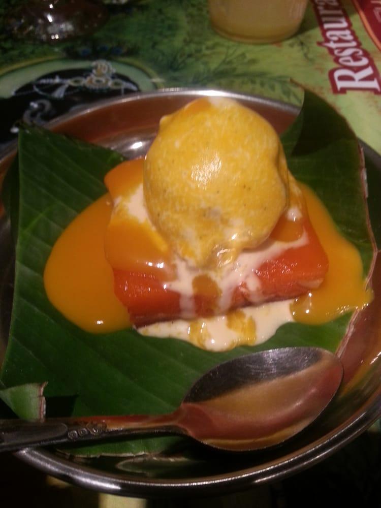 G teau de semoule avec une boule de glace a la vanille yelp for Krishna bhavan paris
