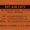 Yoga Studio & Massage of Austin: 401 N Main St, Austin, MN