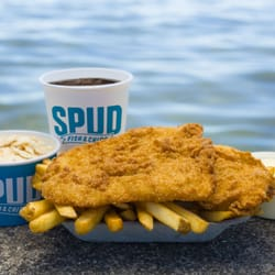 Spud fish chips 43 photos 45 reviews seafood 174 for Spuds fish and chips