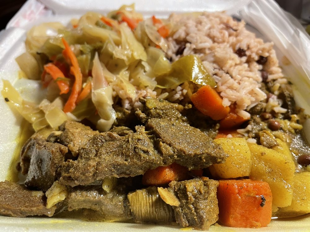 Island Spice Carribean Restaurant: 1150 Washington Ave, Carnegie, PA