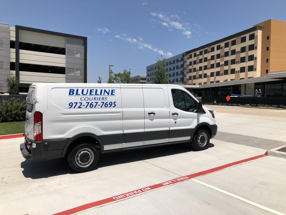 Blueline Couriers: 101 N Greenville Ave, Allen, TX