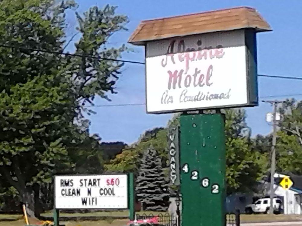 alpine motel hotels 4262 airline rd muskegon mi phone number yelp. Black Bedroom Furniture Sets. Home Design Ideas
