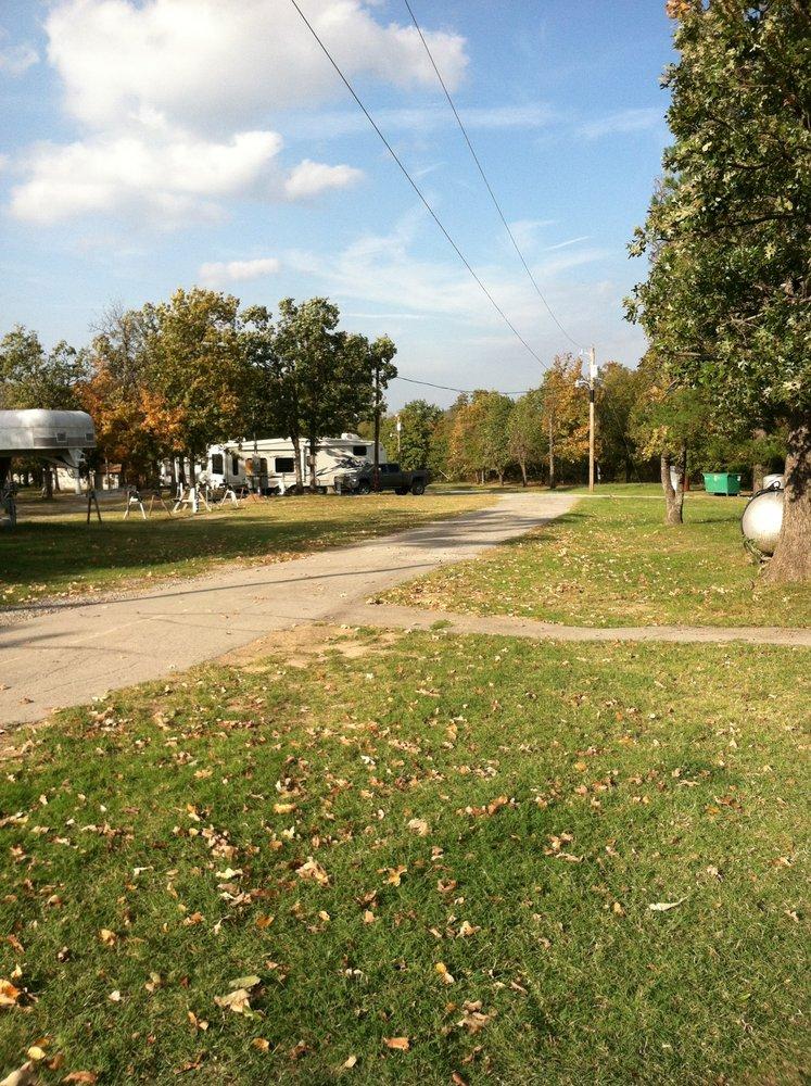 Rock Creek Road RV Campground: 237 Camper Rd, McAlester, OK