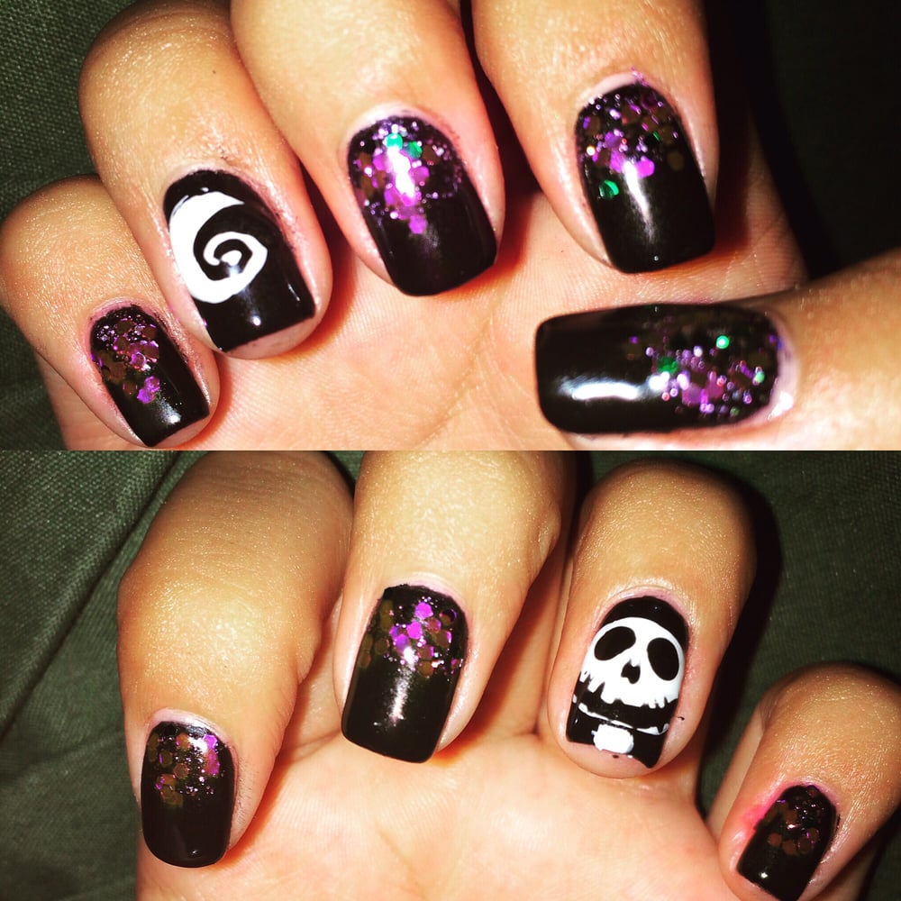 Mimis Nails Design Of The Nightmare Before Christmas I Always
