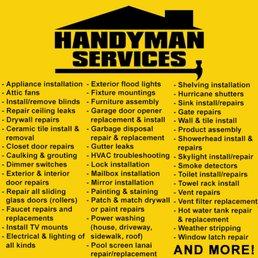 Handyman 1 FL - Handyman - 18350 NW 2nd Ave, Miami, FL - Phone ...