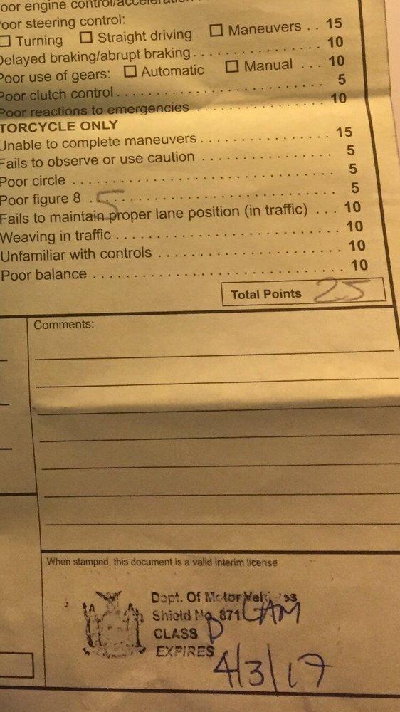 missouri drivers license road test