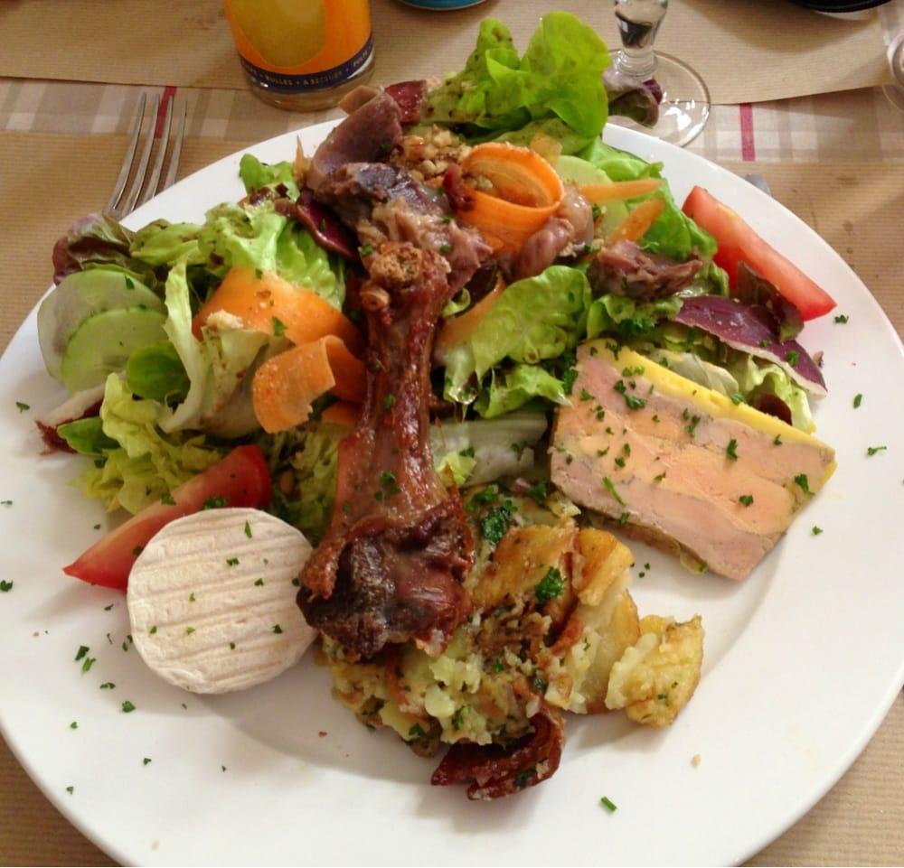 La grande assiette foie gras magrets g siers confit de - Decoration assiette de foie gras photo ...