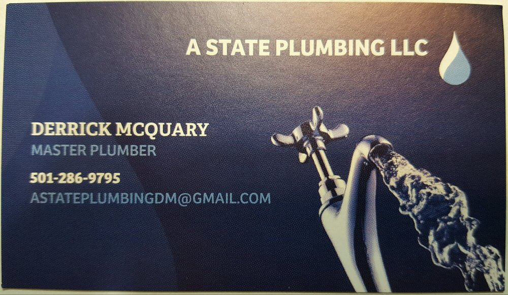 A State Plumbing: 19 Oakwood Dr, Cabot, AR