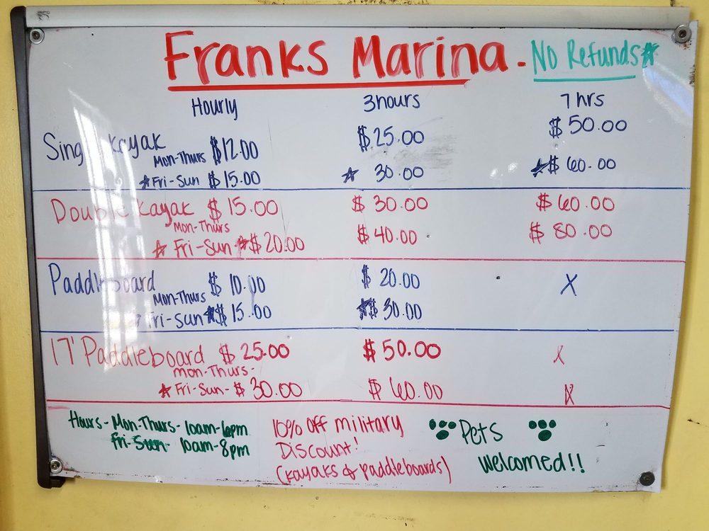 Frank's Marina: 3260 Lake Park Rd, Belton, TX