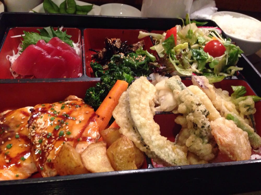 lunch bento combo 3 yum yelp. Black Bedroom Furniture Sets. Home Design Ideas