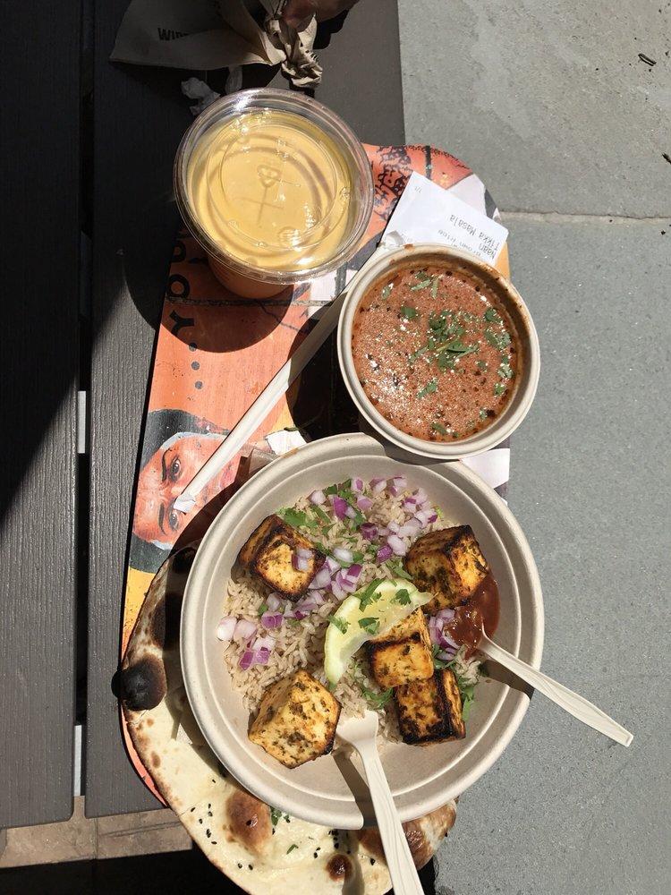 Mango Lassi, Tandoori Paneer Bowl with Tandoori Sauce  - Yelp