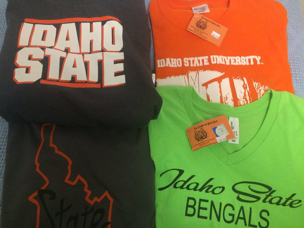 The Orange and Black Store: 123 S Main St, Pocatello, ID