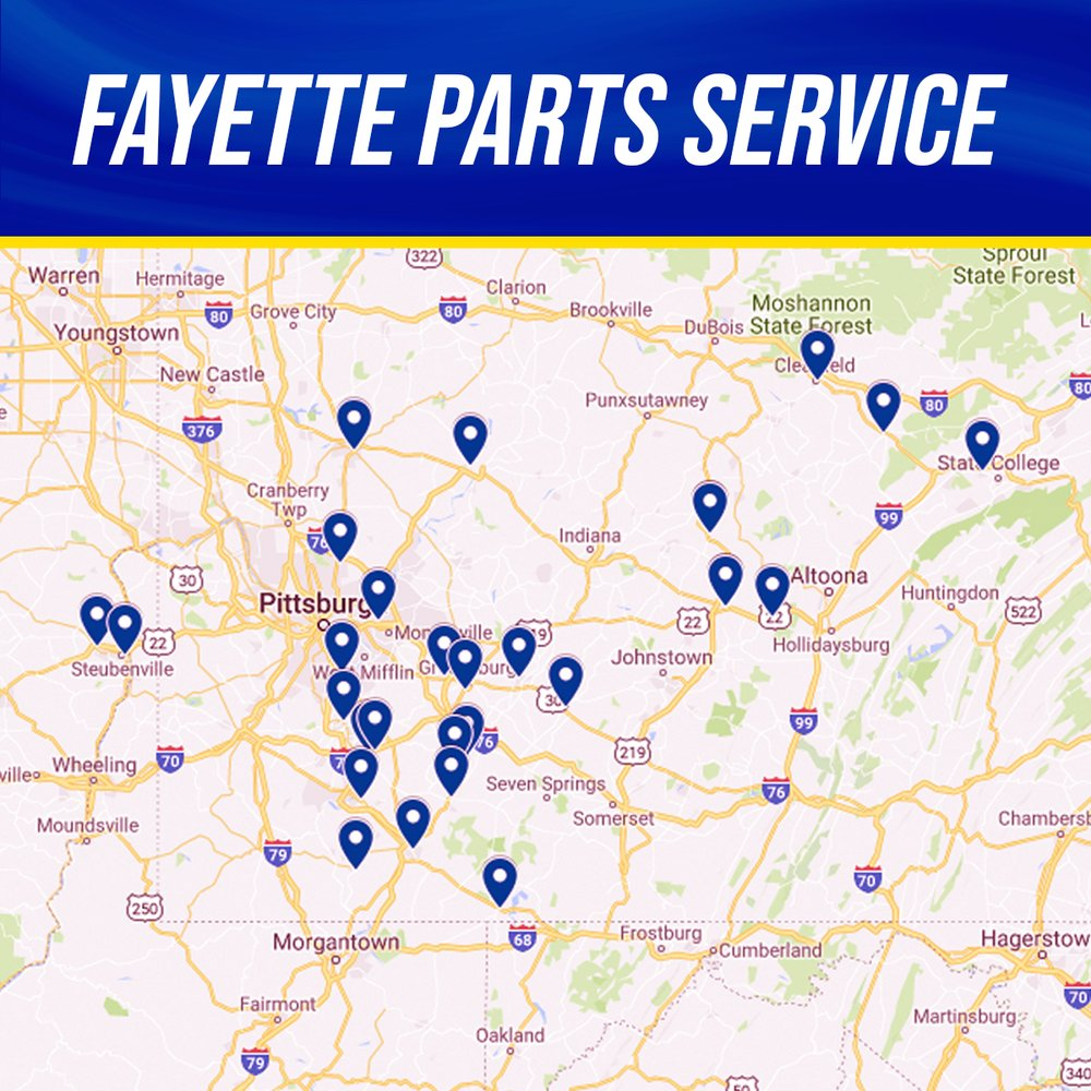 NAPA Fayette Parts Service - Ligonier: 324 E Main St, Ligonier, PA