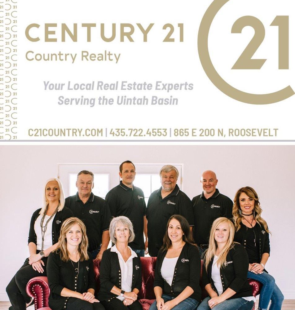 Century 21 Country Realty: 865 E 200th N, Roosevelt, UT