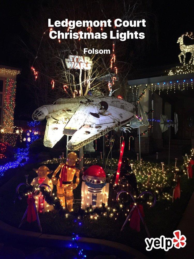 Ledgemont Court Christmas Lights: 104 Ledgemont Ct, Folsom, CA