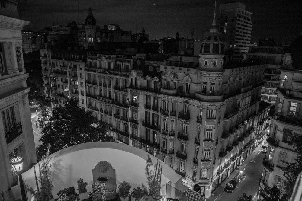 Dome Roof Top Bar: Avenida de Mayo 1396, Buenos Aires, C
