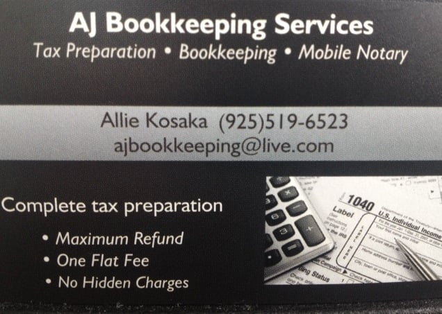 Aj Tax Service Closed Tax Services Ripon Ca Phone Number Yelp