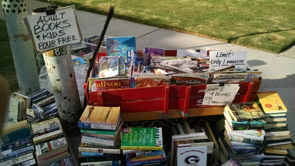 Riley's Red Wagon Book Swap