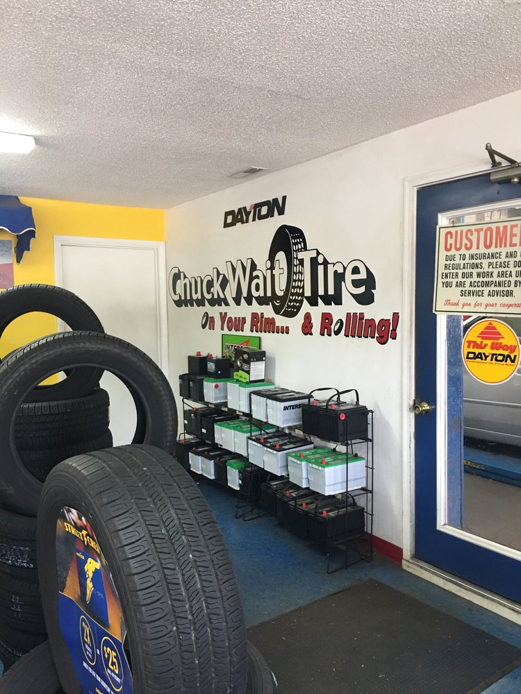 Chuck Wait Tire: 21 E Main St, Mowrystown, OH