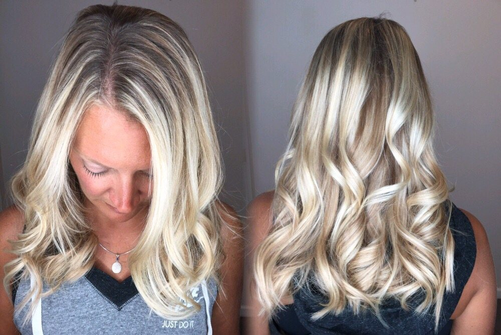 Hair Extensions By Amber Wexford Balayage Cranberry Mars
