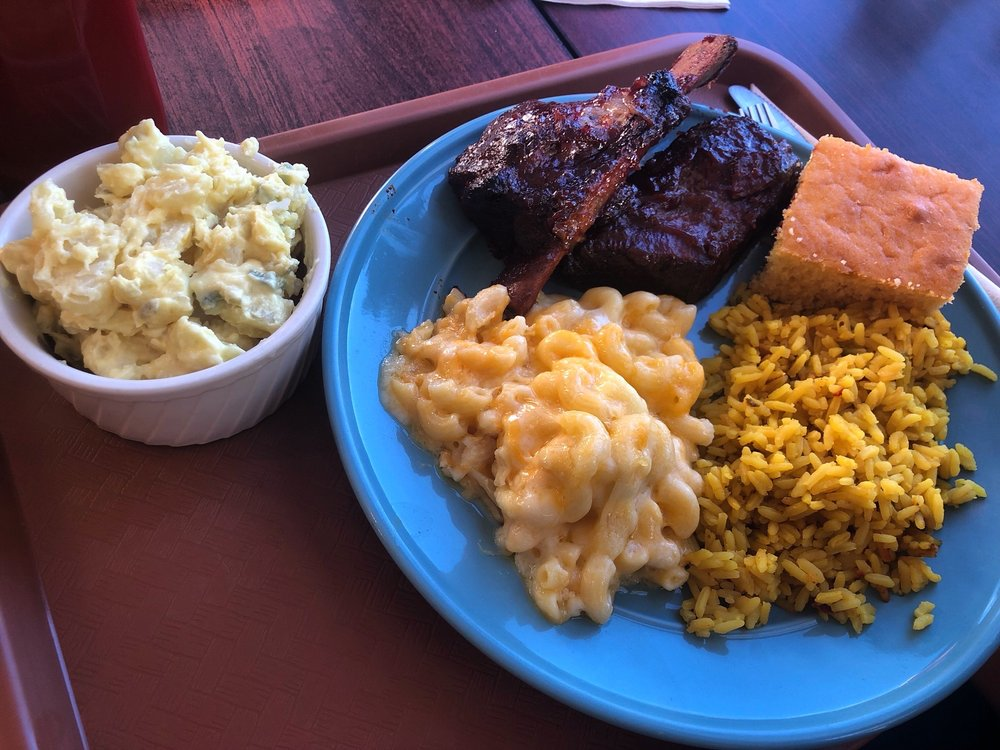 Food from Addie Lee's Soul Food