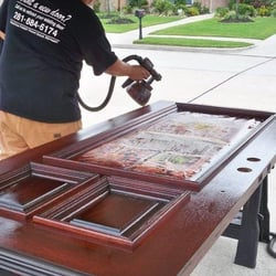 Front Door Refinish - Refinishing Services - Downtown, Houston, TX ...