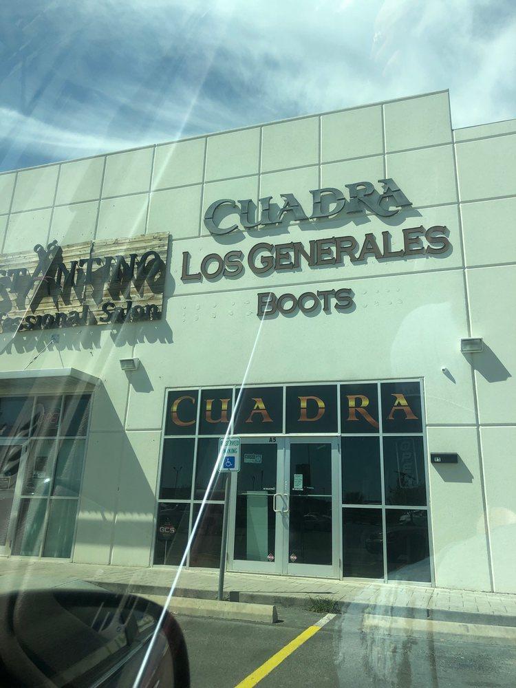 Cuadra Los Generales Boots: 3101 Pablo Kisel Blvd, Brownsville, TX