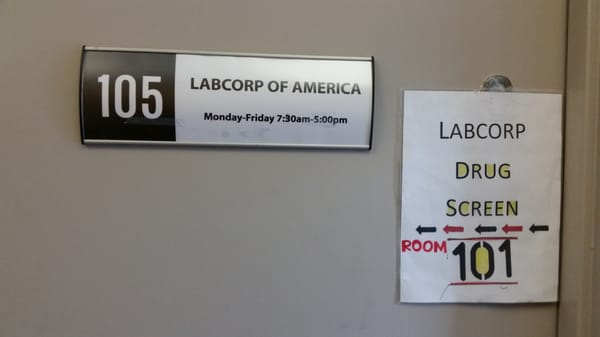 Labcorp Locations Hours