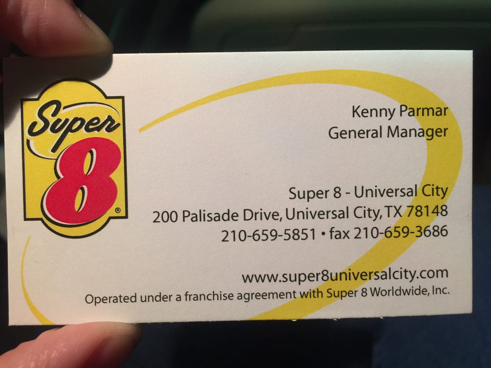 """GM s business card clearly states """"Kenny"""" but booking"""