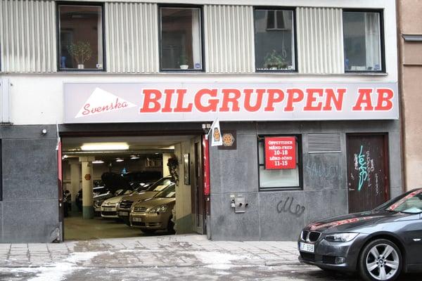 svenska bilgruppen ab