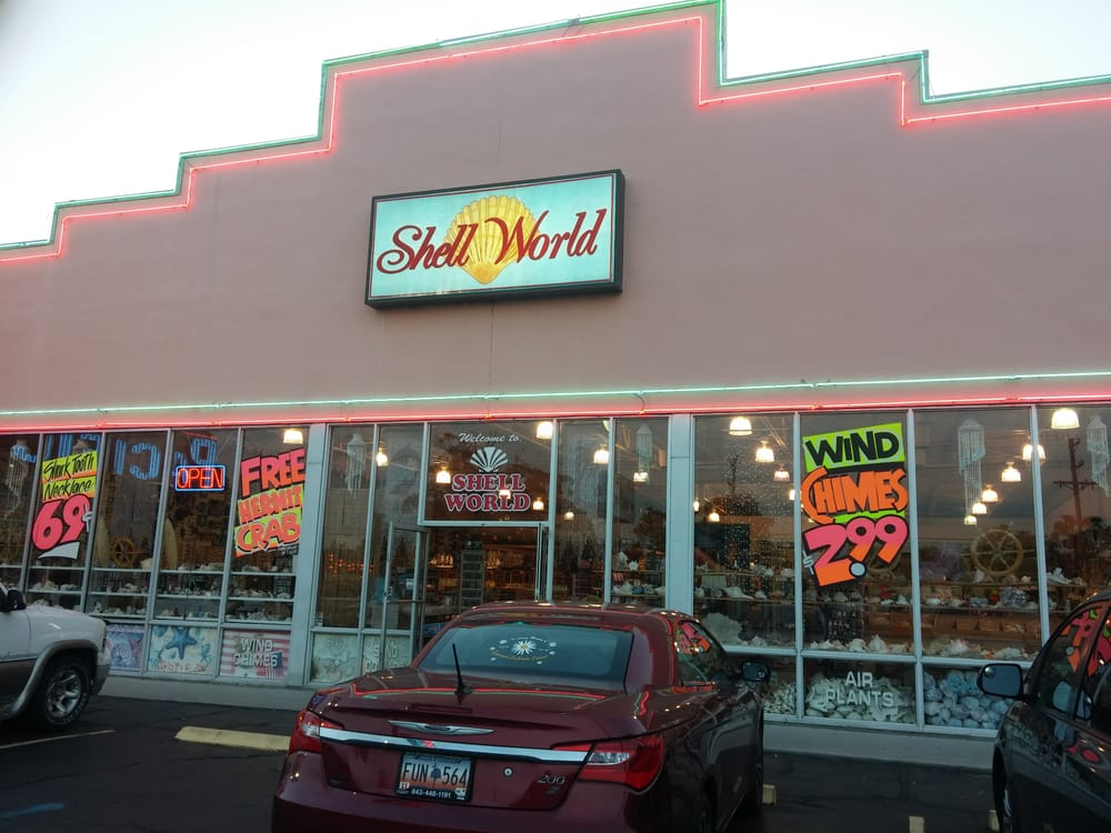 Shell World Myrtle Beach Sc