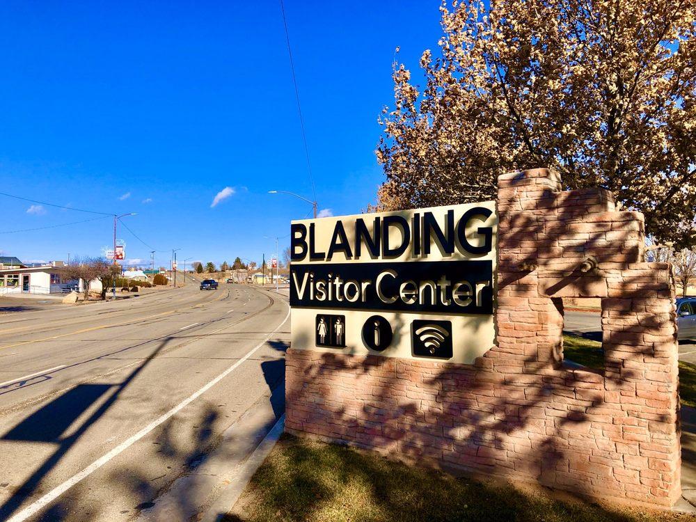 Blanding Visitor's Center: 12 N Grayson Pkwy, Blanding, UT