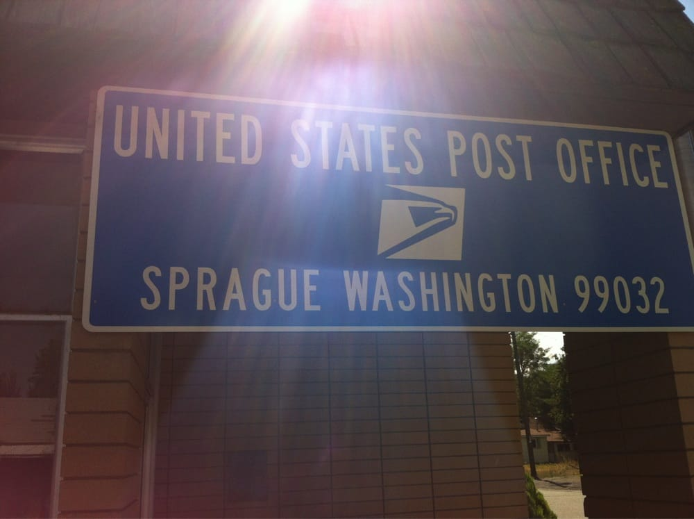 U S Post Office: 319 W 1st St, Sprague, WA