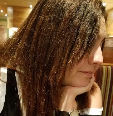 Dry Brittle Damaged, Spilt Ends, Cut Uneven! HORRIBLE! Hair breaking ...