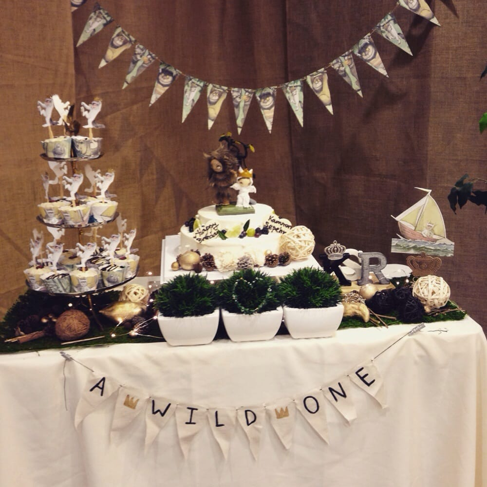 """""""Where The Wild Things Are"""" Themed First Birthday Party"""