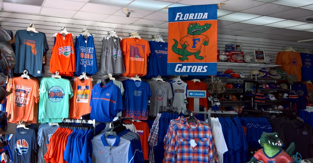 Gator Shop: 1620 W University Ave, Gainesville, FL