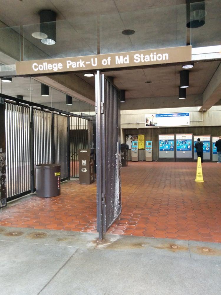 College Park University Of Maryland Metro Station 17