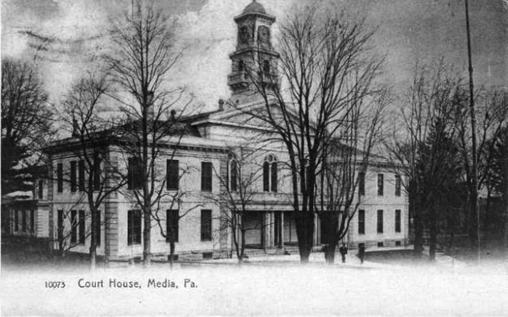 Early 20th C  (before reconstruction) Delaware County