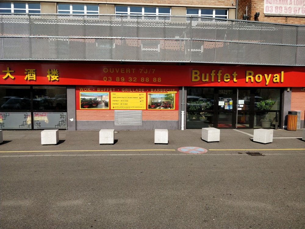 buffet royal chinois 25 rue josu hofer mulhouse haut rhin restaurant avis num ro de. Black Bedroom Furniture Sets. Home Design Ideas