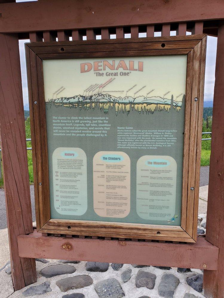 Denali Viewpoint North: Parks Hwy, Trapper Creek, AK