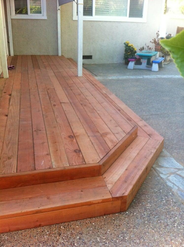 Con Heart Redwood Patio Deck Yelp